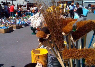 A scene at the Sunday boot sale (flea market) near Kilkenny