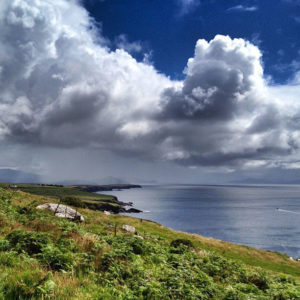 View from the Dingle Peninsula