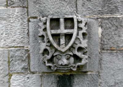 Stone detail at Holycross Abbey