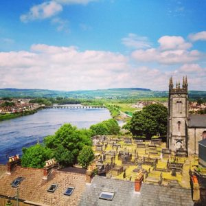 A view of the River Shannon from King John's Castle