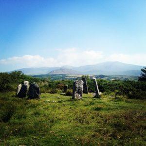 Derreenataggart Stone Circle on the Ring of Beara
