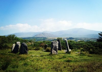 Derreenataggart Stone Circle on the Ring of Beara