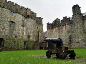 Cahir Castle Courtyard
