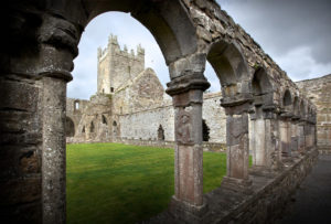 The cloister at Jerpoint Abbey