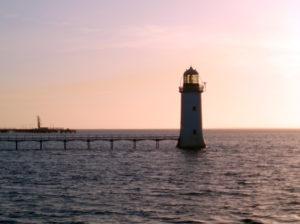 Lighthouse on the Shannon Estuary